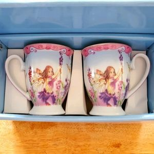 SALE! NIB Ace Gift Collection Fairy Cups/Mugs
